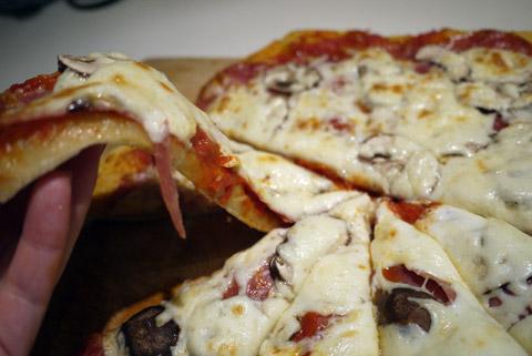 金曜のピザ