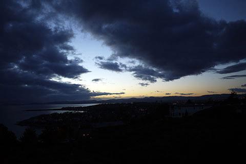 冬の空 ビクトリア