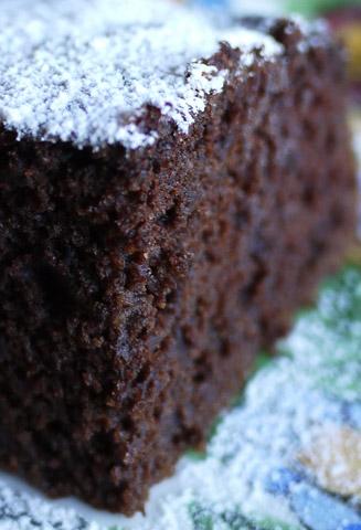 チョコレートビーツケーキ