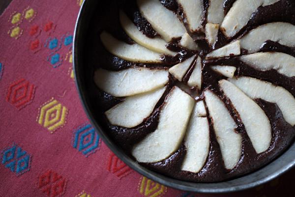 flourless chocolate pare cake