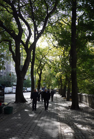 マンハッタンを歩く