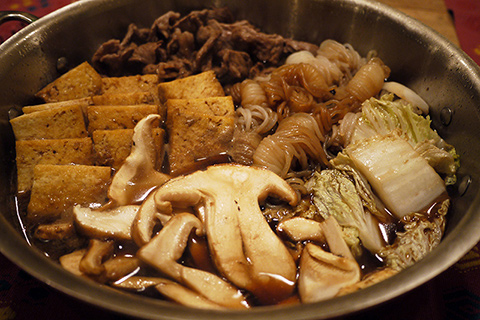 カナダ産 松茸 すき焼き風煮
