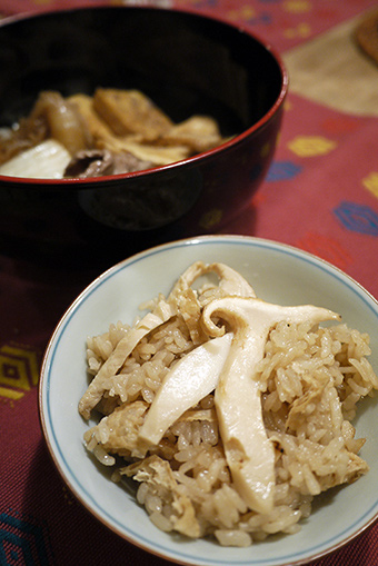 カナダ産 松茸
