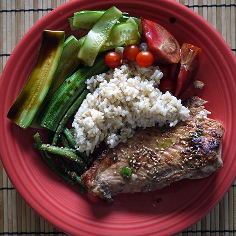 one plate dinner