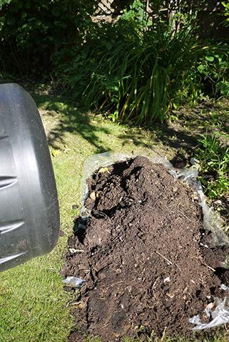 コンポストの堆肥