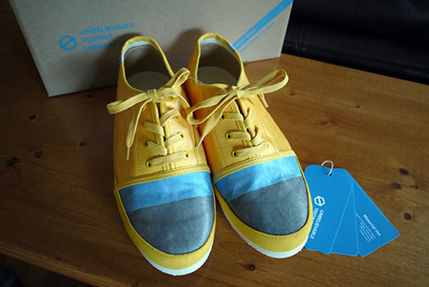 kickstarter pencile shoes