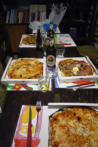 ローマピザ