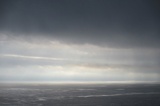冷たい海 ビクトリア