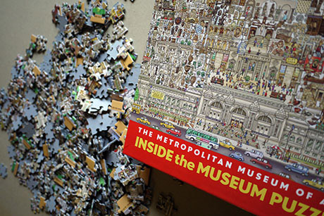 メトロポリタン美術館のパズル