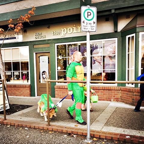 Halloween '17 歩行者天国