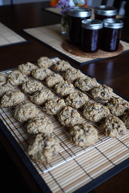 チョコチップオーツクッキー