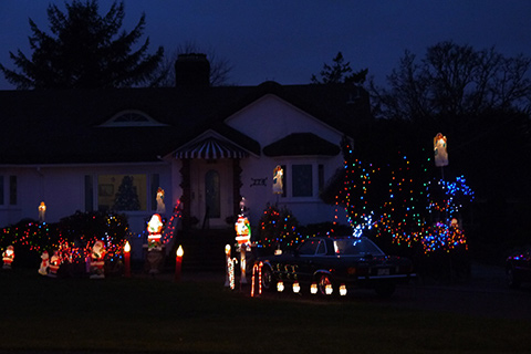 ビクトリアクリスマスライト