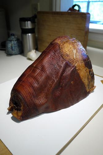 ハムのオーブン焼き