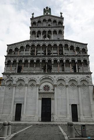 ルッカの建物