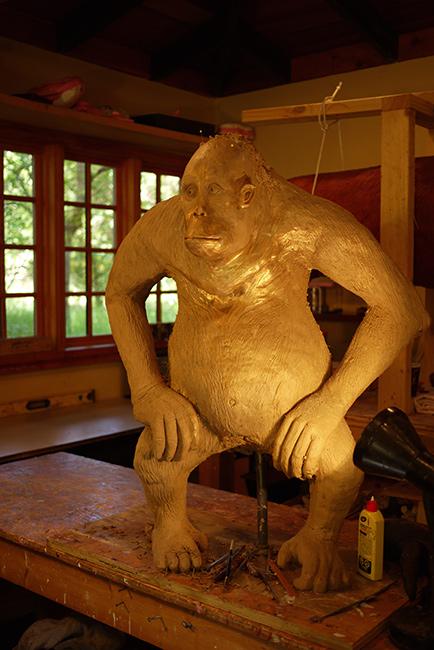 Paul bronze work