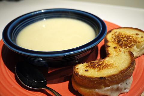 ポテトとリークのスープ