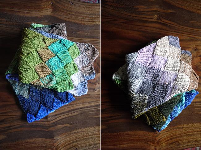 Ayaさんの白樺編み