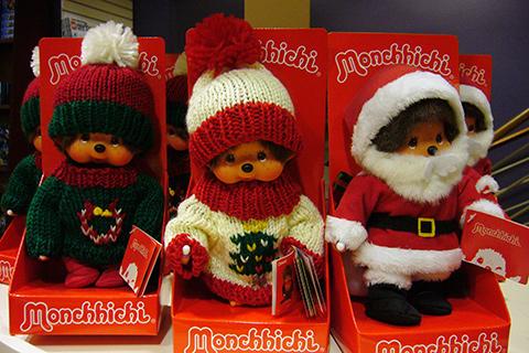 クリスマスモンチッチ
