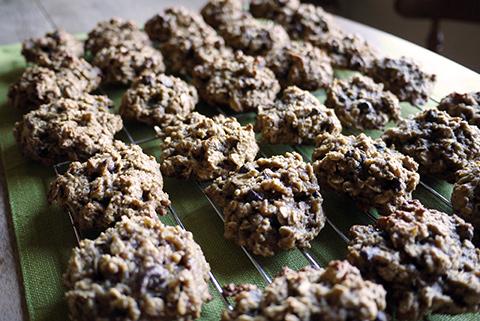 バナナオートミールチョコチップクッキー