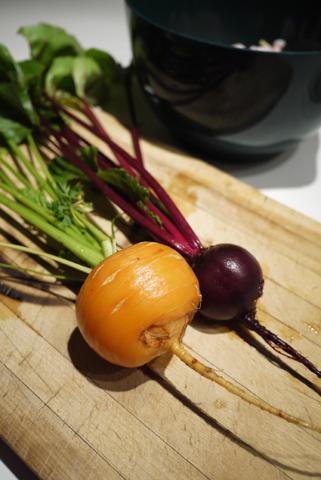 畑野菜でかき揚げ